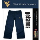 West Virginia Mountaineers Scrub Style Pant from GelScrubs (Navy X-Small)