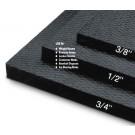 """4' x 6' x 3/8"""" Rubber Flooring Mat"""