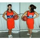 Brick-City Ladies' Streetball All Stars Jersey Dress  - X-Large (14)