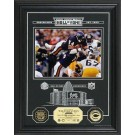 "Walter Payton Hall of Fame Archival Etched Glass 6"" x 9"" Framed Photograph and Medallion Set"