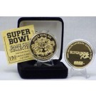 24KT Gold Super Bowl XII Flip Coin from The Highland Mint