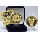 24KT Gold Super Bowl XXXI Flip Coin from The Highland Mint