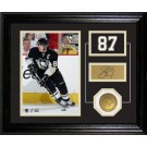 "Sidney Crosby Player Pride Desk Top Framed 10"" x 12"" Photograph and Medallion Set from The Highland Mint"