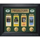 Green Bay Packers Framed Super Bowl Ticket and Game Coin Collectible from The Highland Mint