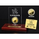 Miami Hurricanes 24KT Gold Coin in an Etched Acrylic Desktop Display from The Highland Mint