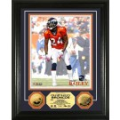 """Champ Bailey Framed 8"""" x 10"""" Photograph and Medallion Set from The Highland Mint"""