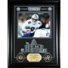 "Troy Aikman Hall of Fame Archival Etched Glass 6"" x 9"" Framed Photograph and Medallion Set"