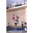 18' W x 18' H Indoor Climbing Net