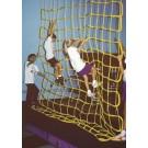 10' W x 10' H Indoor Mesh Climbing Net