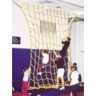 12' W x 14' H Heavy-Duty Indoor Mesh Climbing Net