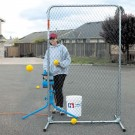 "Lite-Flite&reg / Slowpitch Softball ""Quick-Snap"" Protective Screen from Jugs"