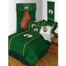 "Boston Celtics Jersey Mesh Full / Queen Comforter from ""The Sidelines Collection"" by Kentex"
