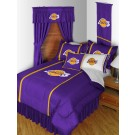 "Los Angeles Lakers Jersey Mesh Full / Queen Comforter from ""The Sidelines Collection"" by Kentex"
