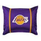 "Los Angeles Lakers Pillow Sham from ""The Sidelines Collection"" by Kentex"