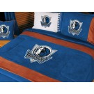 "Dallas Mavericks MicroSuede Twin Comforter from ""The MVP Collection"" by Kentex"