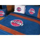 "Detroit Pistons MicroSuede Full / Queen Comforter from ""The MVP Collection"" by Kentex"