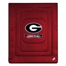 """Georgia Bulldogs Jersey Mesh Twin Comforter from """"The Locker Room Collection"""" by Kentex"""