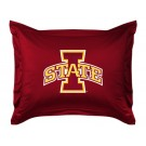 "Iowa State Cyclones Coordinating Pillow Sham from ""The Locker Room Collection"" by Kentex"