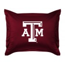 "Texas A&M Aggies Coordinating Pillow Sham from ""The Locker Room Collection"" by Kentex"