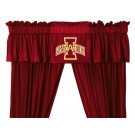 Iowa State Cyclones Coordinating Valance for the Locker Room or Sidelines Collection by Kentex