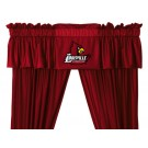 Louisville Cardinals Coordinating Valance for the Locker Room or Sidelines Collection by Kentex