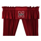 Nebraska Cornhuskers Coordinating Valance for the Locker Room or Sidelines Collection by Kentex