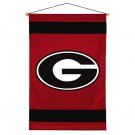 "Georgia Bulldogs 29.5"" x 45"" Coordinating NCAA ""Sidelines Collection"" Wall Hanging from Kentex"