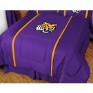 "Louisiana State (LSU) Tigers Jersey Mesh Twin Comforter from ""The MVP Collection"" by Kentex"