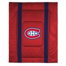 """Montreal Canadiens Jersey Mesh Twin Comforter from """"The Sidelines Collection"""" by Kentex"""