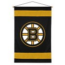 "Boston Bruins 29.5"" x 45"" Coordinating NHL ""Sidelines Collection"" Wall Hanging from Kentex"