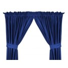 """Duke Blue Devils 63""""L x 82""""W Coordinating Jersey Mesh Tie Back Drape for the Locker Room or Sidelines Collection by Kentex"""
