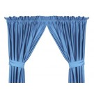 """North Carolina Tar Heels 63""""L x 82""""W Coordinating Jersey Mesh Tie Back Drape for the Locker Room or Sidelines Collection by Kentex"""