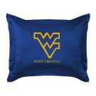 "West Virginia Mountaineers Coordinating Pillow Sham from ""The Locker Room Collection"" by Kentex"