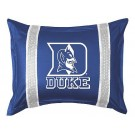 "Duke Blue Devils Pillow Sham from ""The Sidelines Collection"" by Kentex"