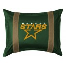 "Dallas Stars Coordinating Pillow Sham from ""The Sidelines Collection"" by Kentex"