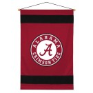 "Alabama Crimson Tide 29.5"" x 45"" Coordinating NCAA ""Sidelines Collection"" Wall Hanging from Kentex"