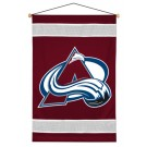 "Colorado Avalanche 29.5"" x 45"" Coordinating NHL ""Sidelines Collection"" Wall Hanging from Kentex"