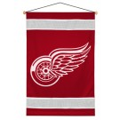 "Detroit Red Wings 29.5"" x 45"" Coordinating NHL ""Sidelines Collection"" Wall Hanging from Kentex"