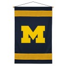 """Michigan Wolverines 29.5"""" x 45"""" Coordinating NCAA """"Sidelines Collection"""" Wall Hanging from Kentex"""
