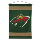 "Minnesota Wild 29.5"" x 45"" Coordinating NHL ""Sidelines Collection"" Wall Hanging from Kentex"