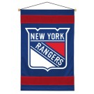 "New York Rangers 29.5"" x 45"" Coordinating NHL ""Sidelines Collection"" Wall Hanging from Kentex"
