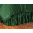 Miami Hurricanes Coordinating Twin Bedskirt for the Locker Room or Sidelines Collection by Kentex