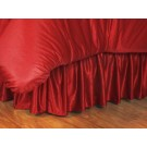 Wisconsin Badgers Coordinating Twin Bedskirt for the Locker Room or Sidelines Collection by Kentex
