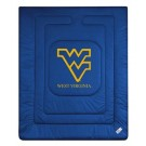 """West Virginia Mountaineers Jersey Mesh Twin Comforter from """"The Locker Room Collection"""" by Kentex"""