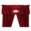 Arkansas Razorbacks Coordinating Valance for the Locker Room or Sidelines Collection by Kentex