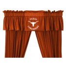 Texas Longhorns Coordinating Valance for the Locker Room or Sidelines Collection by Kentex
