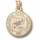 """Appalachian State Mountaineers """"Seal"""" Pendant - 14KT Gold Jewelry"""