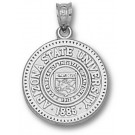 "Arizona State Sun Devils ""Seal"" Pendant - Sterling Silver Jewelry"