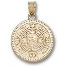 "Arizona State Sun Devils ""Seal"" Pendant - 14KT Gold Jewelry"