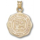 "Bowling Green State Falcons ""Seal"" Pendant - 10KT Gold Jewelry"